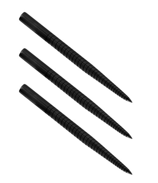 Końcówki steeltip Harrows Laser Cut Points Ringed black