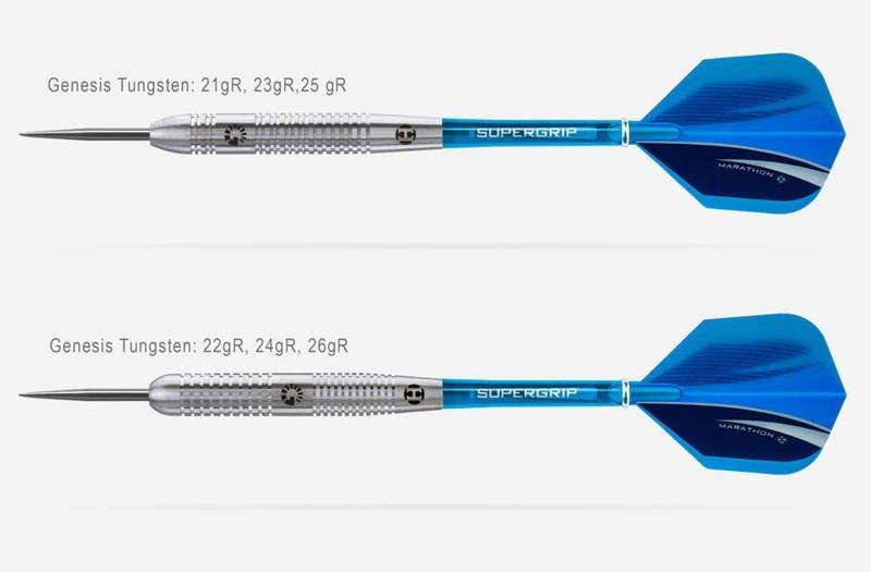 Rzutki Harrows GENESIS Tungsten Steeltip