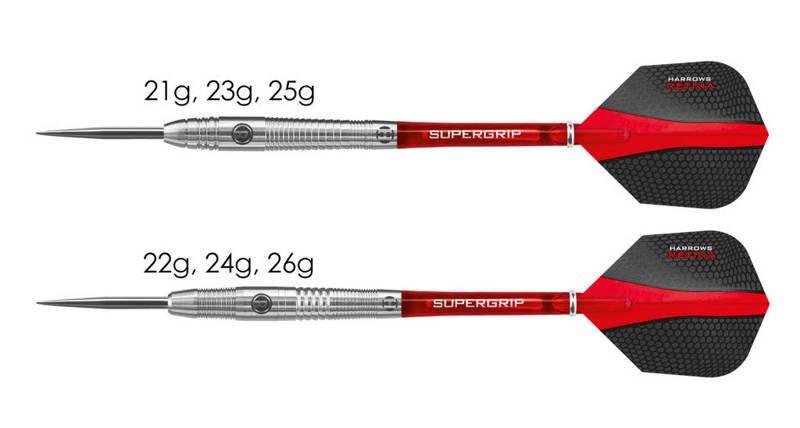 Rzutki Harrows Retina 95% Steeltip